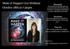 Online class: Make it Happen Series - Manifestation Belleville Belleville Area image 1
