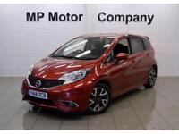 2014 14 NISSAN NOTE 1.5 DCI ACENTA PREMIUM (STYLE PACK) 5D 90 BHP DIESEL MPV,RED