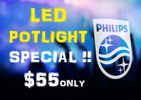 #1 RATED PHILIPS® LED POTLIGHT INSTALLED $55