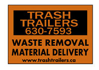 Waste Removal, Material Delivery - TRASH TRAILERS