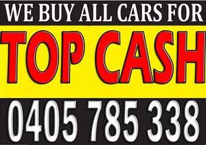 TOP CASH FOR ALL CARS UNWANTED, DAMAGE, SCRAP, WRITTEN OFF & .... Wollongong Wollongong Area Preview