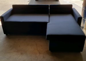 Brand new sofa with chaise/double bed/storage