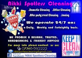 NIKKI SPOTLESS CLEANING