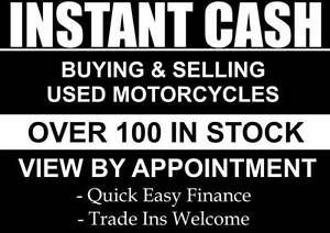 INSTANT CASH $$$ WE PAY CASH FOR YOUR MOTORCYCLE $$$WANTED$$$ Melbourne CBD Melbourne City Preview