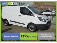 Ford Transit Custom 290 2.2TDCi ( 100PS ) Van 2014 Swb 6 Speed Bluetooth