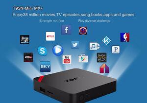 ANDROID TV BOXES - T95N MINI MX+ 4K Cambridge Kitchener Area image 4