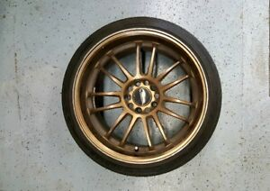 """18"""" BRONZE RIMS With Stretched Tires"""