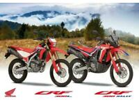 The All New Honda CRF 300 L 2021 - Ready for Jannuary Delivery