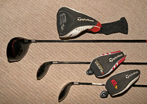TaylorMade - Driver, 3 and 4 Hybrid Clubs