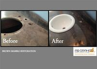 NEED TO RESTORE, REPAIR, RESEAL YOUR GRANITE COUNTERTOP? CALL US