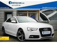 2013 63 Audi A5 2.0 TDI 177 Quattro Black Edition Coupe MMI | PAN ROOF | FDSH