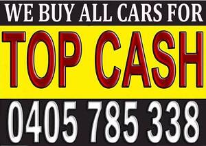 TOP CASH FOR ALL CARS UNWANTED Wollongong Wollongong Area Preview