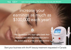 Start your own Beauty Laser Biz – FREE Demo/Delivery/Training