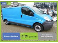 Vauxhall Vivaro Lwb 2.0CDTi 115ps Ex British Gas Racking Air con E/pac Roof Rack
