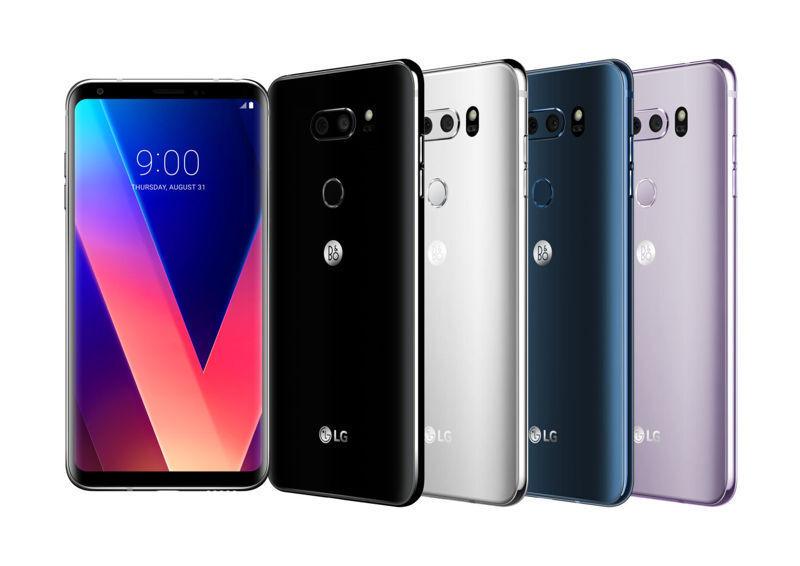 LG V30 H931 64GB Silver GSM Unlocked Phone A Free 3 Months Service Plan SHDW
