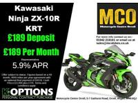 Kawasaki Ninja ZX-10R KRT Brand New 2017 Model Massive Saving on List Price