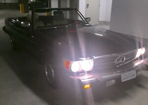 1977 Mercedes Benz 450SL CONVERTIBLE