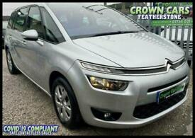 Citroen Grand C4 Picasso 1.6e-HDi ( 115ps ) VTR+ SILVER 7 SEATER 2014 +LOVELY