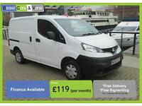 Nissan NV200 1.5dCi ( Euro 5 ) SE Twin Sld Rear Camera Bluetooth ONLY 72K