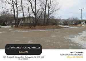 Lot 303 For Sale @ Fort Qu'Appelle