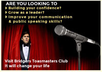 Join us for improving public speaking and leadership skills!!!