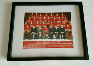 8x10 photo of the 1978-79 Montreal Canadiens Stanley Cup champs