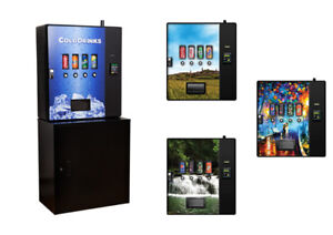 New wall mountable coolers (drink vending machine)