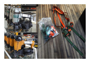 roofing nailers and harnesses at the 689r new & used tool store