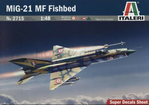 1/48 Scale Model Aircraft MiG-21 by Italeri