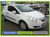 Vauxhall Corsavan 1.3CDTi 16v Ex Bt Van FSH New Shape LOW MILEAGE