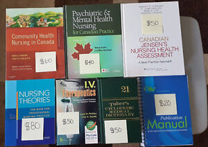 Nursing books $10 OFF POSTED PRICES