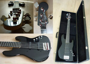 Squire Deluxe Active-V Bass trade for electric guitar
