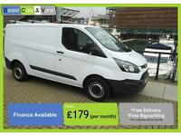 Ford Transit Custom 2.2TDCi ( 100PS ) ECOnetic 270 L1H2 Roller Roofbars & Ladder