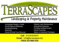 Terrascapes Landscaping and Property Maintenance