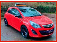 Red Vauxhall Corsa Limited Edition 1.2 Petrol Manual 2014(14) LOW Mileage