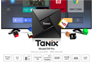 Tanix TX9 Pro - Android TV Box - S912 Oct Core - 3GB+32GBNew