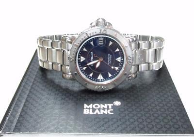 Montblanc Men's Automatic Stainless Steel Wristwatch with Date Window ~ US-104