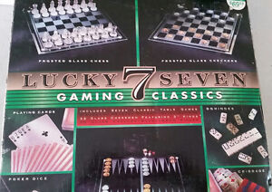 Lucky Seven classic glass game