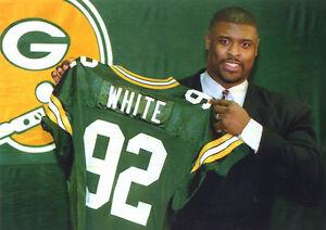 brand new:Vintage NFL Reggie White,75 yr,Green Bay Packers,XL