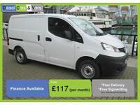 Nissan NV200 Van Diesel Parking Camera TWIN SLD DIESEL MANUAL 2011/61 NO VAT