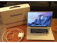 "HIGHEST SPEC MACBOOK PRO 15"" 3.5ghz i7 QUAD CORE 16GB 1TB FULLY LOADED"