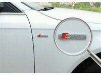 Audi S Line Matte Badge Rear Boot Emblem S Line A 1 2 3 4 5 6 8 Q RS