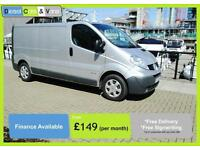 Renault Trafic LWB 2.0dCi LL29dCi 115 Met silver AirCon Electric *NO VAT*