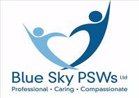 PSWs required ASAP to Join our Elite Blue Sky Team!