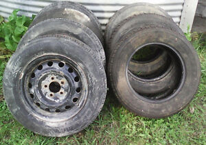 Used tires and rims for sale London Ontario image 1