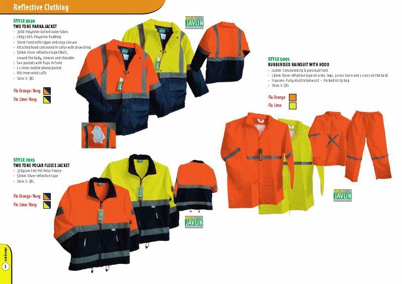 Corporate & Safety Clothing, plus Safety Accessories.