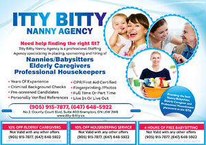 ARE YOU LOOKING FOR A NANNY, ELDERLY CAREGIVER OR HOUSE KEEPER?