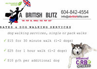 Looking for a Dog Walker? ** Book now! **