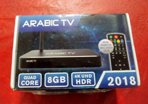 ***Android Tv box ( Arabic Tv) 8G, 2G DDR, 4K ***