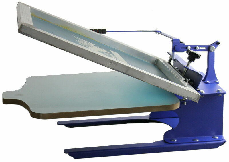 Desktop 1 Color Silk T-Shirt Screen Printing Machine DIY Fabric Press Machine